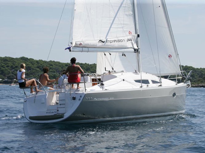 Charter this amazing Elan Elan 344 in Corinth, GR