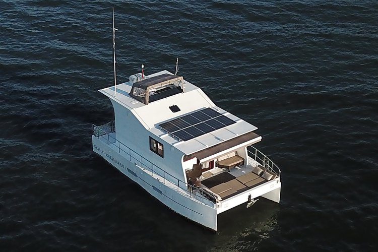 Catamaran boat for rent in Bali