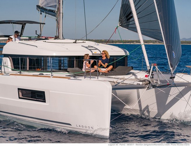 Rent this amazing Lagoon 40 in British Virgin Islands for an affordable price!