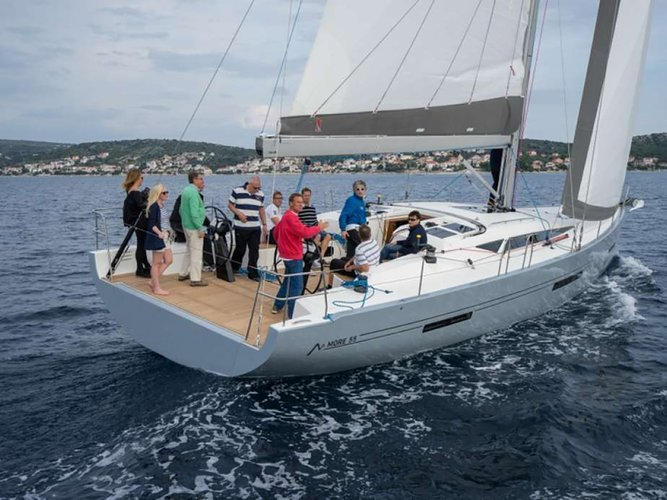 Explore La Spezia on this beautiful sailboat for rent