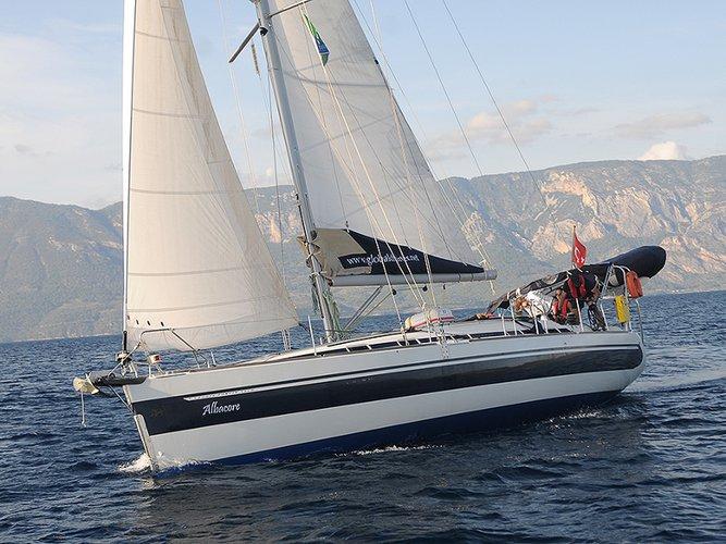 Experience Karacasögüt, TR on board this amazing Poncin Yachts Harmony 42