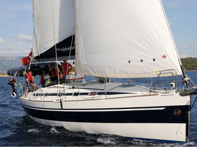Get on the water and enjoy  in style on our Poncin Yachts Harmony 52