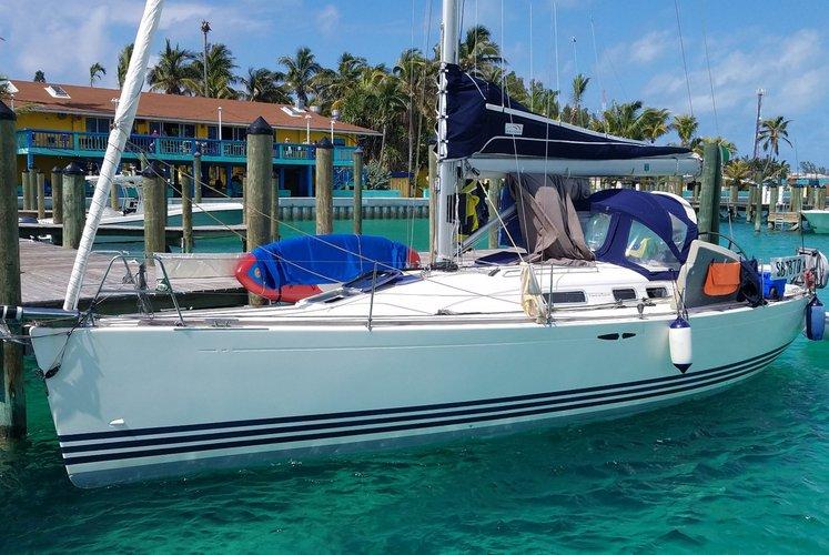Cruiser racer boat rental in Rickenbacker Marina, FL
