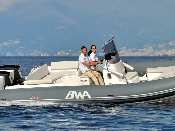 Rent this  BWA 28 GT for a true nautical adventure