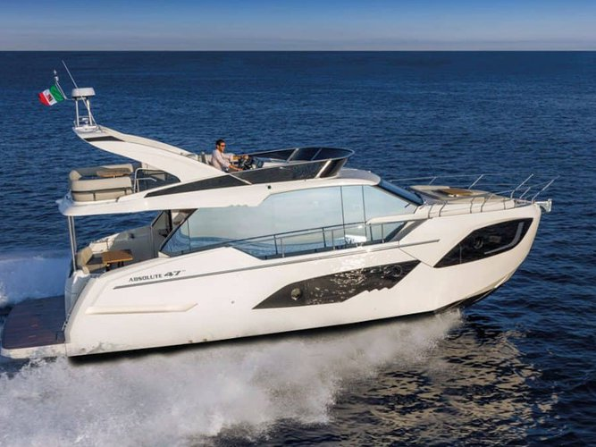 Cruise Šibenik, HR waters on a beautiful Absolute Yachts Absolute 47 Fly