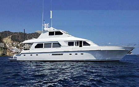 Enjoy luxury and comfort on this California motor boat rental