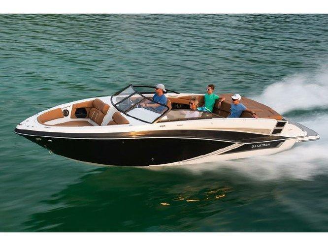 Experience Ibiza on board this elegant motor boat