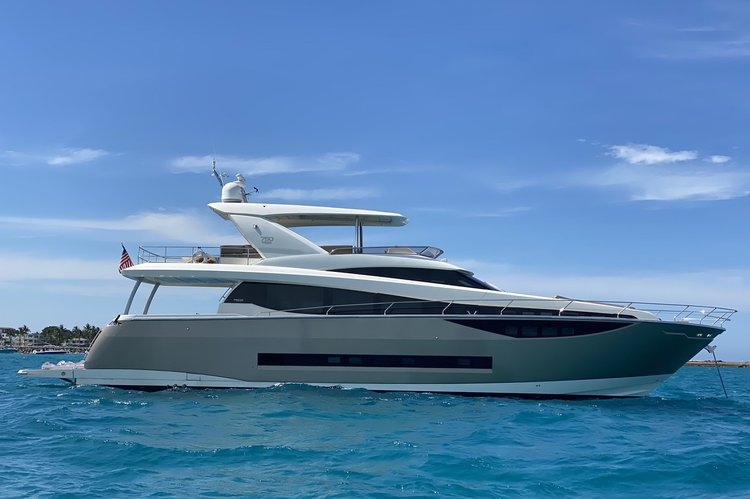 Boat for rent Prestige 75.0 feet in West Palm Harbor Marina, FL
