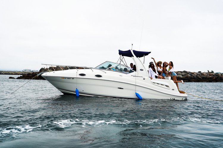 Boating is fun with a Sea Ray in Marina Del Rey