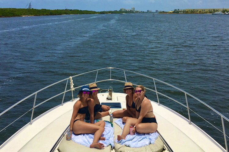 Sea Ray boat for rent in Jupiter