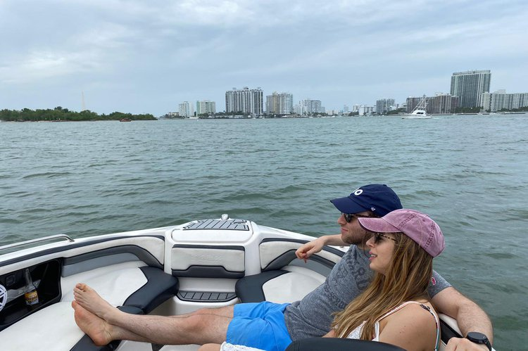 Jet boat boat for rent in Miami