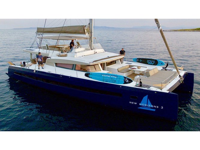 Get on the water and enjoy Lefkada in style on our  Bali 5.4.