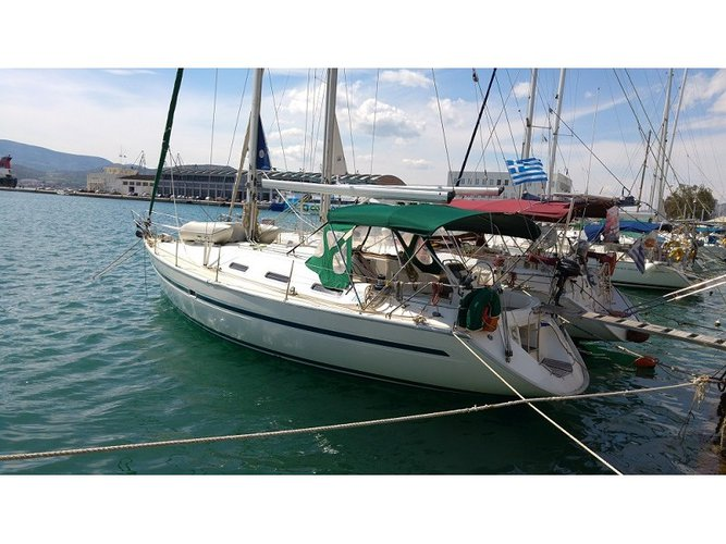 Enjoy luxury and comfort on this Volos sailboat charter