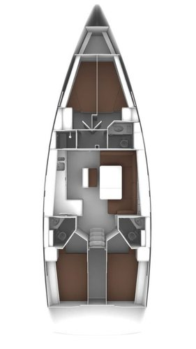 Discover Aegean surroundings on this Bavaria Cruiser 46 Bavaria Yachtbau boat