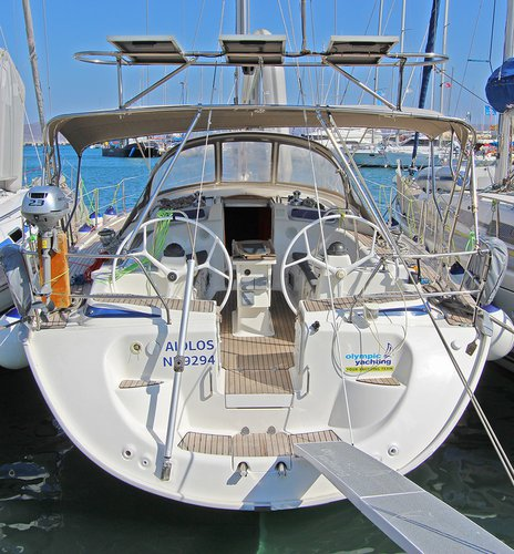 All you need to do is relax and have fun aboard the Bavaria Yachtbau Bavaria 46 Cruiser