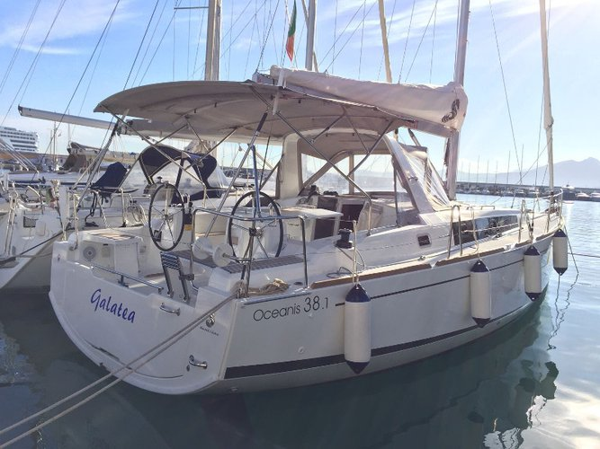 Take this Beneteau Oceanis 38.1 for a spin!
