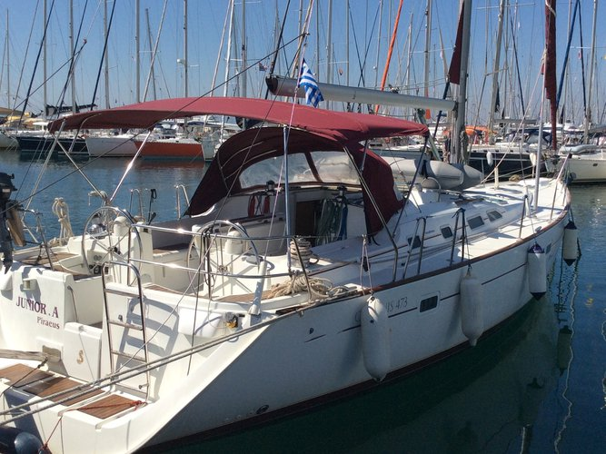 Experience Athens, GR on board this amazing Beneteau Oceanis 473