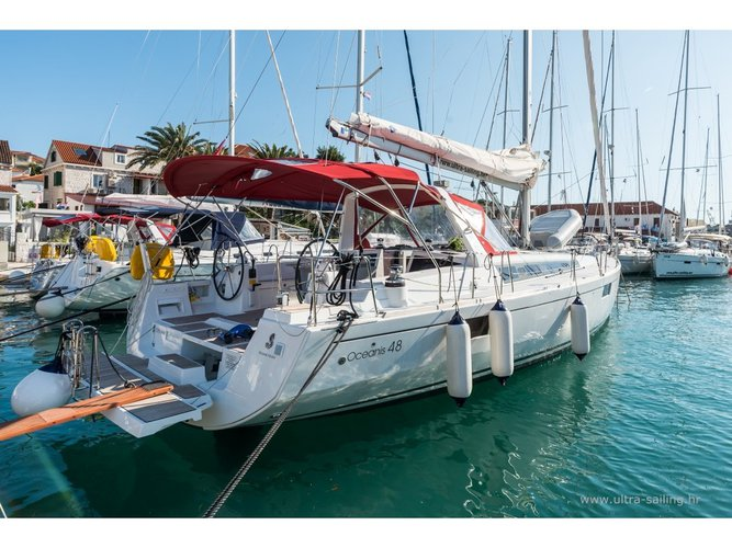 Enjoy Pomer, HR to the fullest on our comfortable Beneteau Oceanis 48