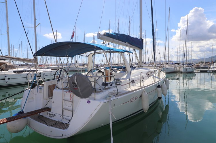 Boat for rent Bénéteau 50.0 feet in Marina Kastela, Kastela, Croatia