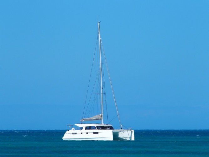 All you need to do is relax and have fun aboard the Catamarans Nautitech Nautitech 46