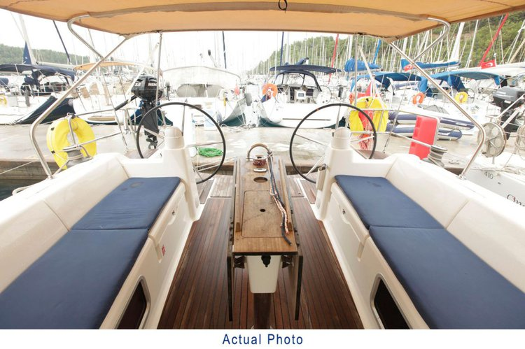 Boat for rent Dufour Yachts 44.0 feet in Aegean, Turkey