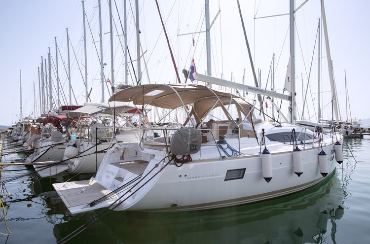 Charter this amazing Elan Marine Elan Impression 45 in Split region, HR