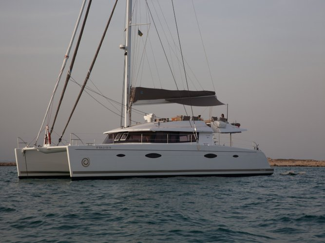 Rent this Fountaine Pajot Victoria 67 for a true nautical adventure