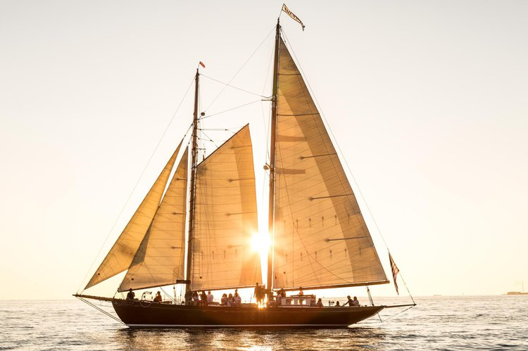 Enjoy Sailing in Salem Sound on this Historic Classic Schooner Yacht