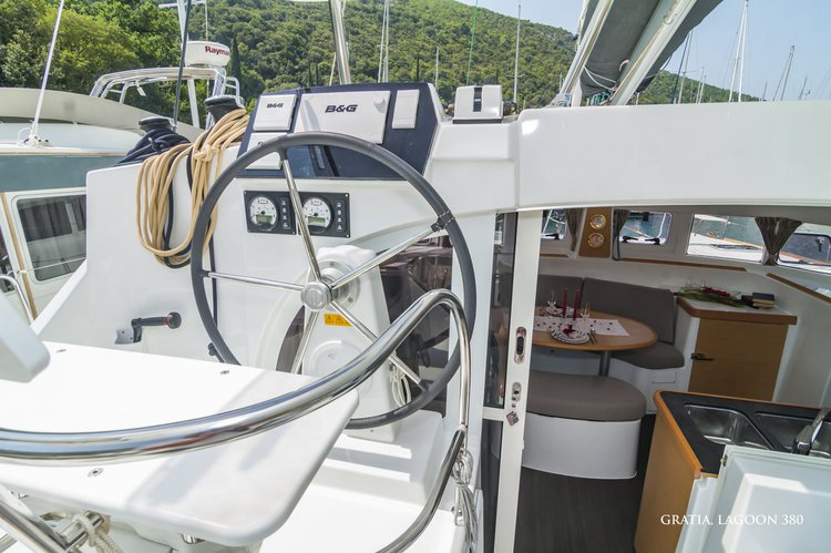 Boat for rent Lagoon-Bénéteau 37.0 feet in ACI Marina Dubrovnik (Komolac) , Croatia