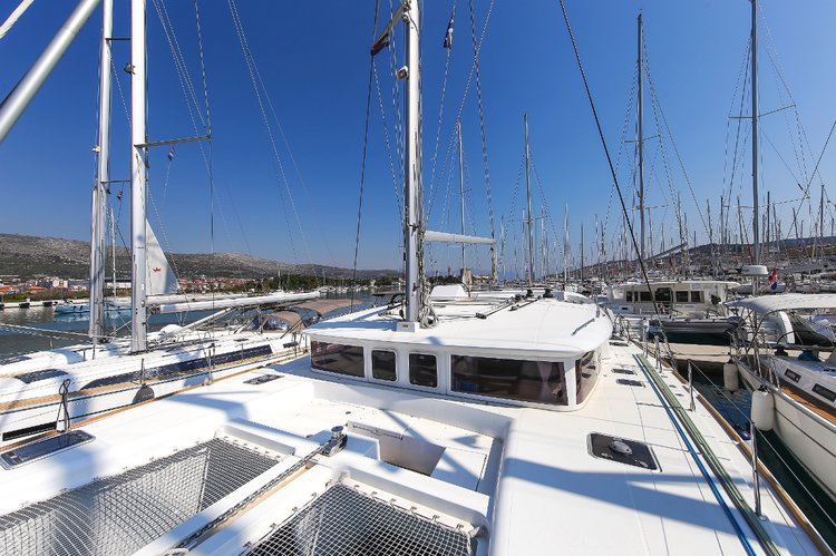 Boat for rent Lagoon-Bénéteau 45.0 feet in Marina Kornati, Biograd, Croatia