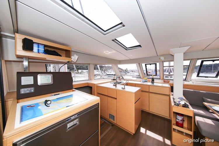 Boat for rent Nautitech Rochefort 45.0 feet in Marina Kornati, Biograd, Croatia