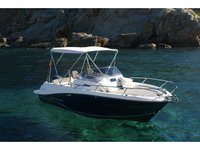 Enjoy Ibiza - Santa Eulària des Riu, ES to the fullest on our comfortable Jeanneau Cap Camarat 6.5 WA