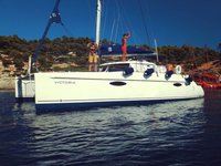 Experience Kanistro, Chalkidiki on board this elegant sailboat