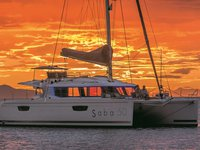 Climb aboard this Fountaine Pajot Saba 50 for an unforgettable experience