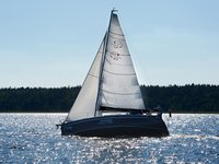 Sail Wilkasy, PL waters on a beautiful Northman Shipyard Maxus 33.1 RS Standard