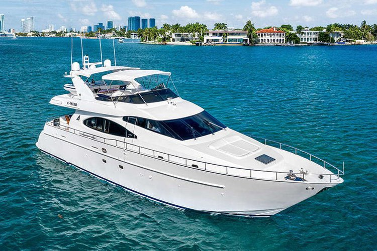 70' Azimut - Don't Reserve a Shuttle. Rent a Luxury Yachting Experience!