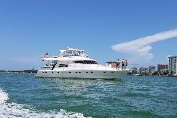 Charter the 70' Johnson Power Mega Yacht in Marina del Rey, California