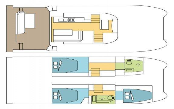 Boat for rent Maestro 36.1 feet in Coconut Grove Marina, FL