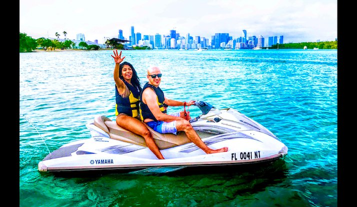 SeaRay's 57.8 feet in Miami