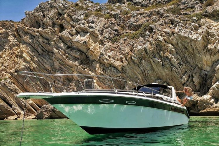 Motor yacht boat rental in Cascais, Portugal