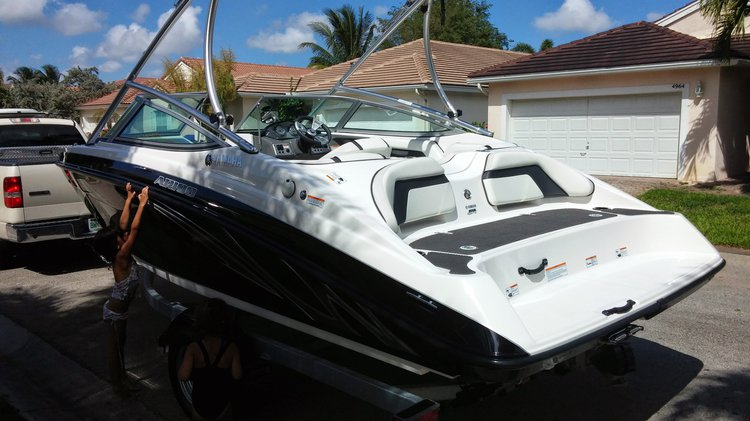Boat for rent yamaha 19.0 feet in Hollywood, FL