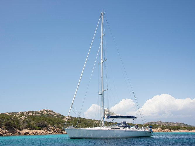 All you need to do is relax and have fun aboard the Beneteau First 51