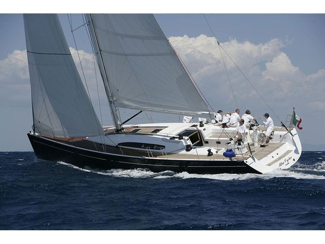 All you need to do is relax and have fun aboard the Dehler Dehler 60