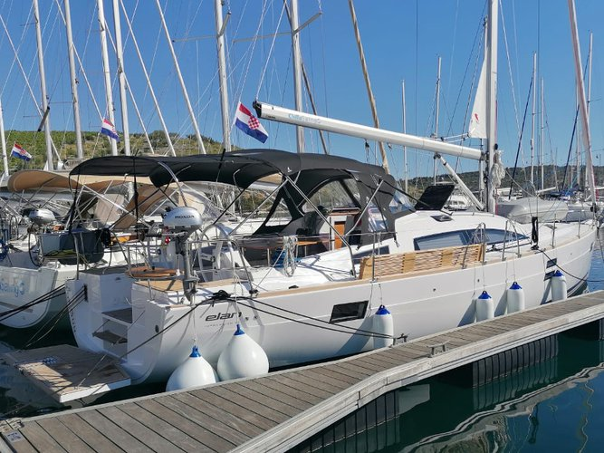 The perfect boat to enjoy everything Primošten, HR has to offer