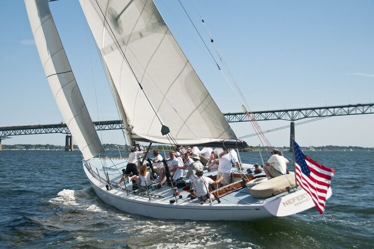 Charter this one of a kind America's Cup Sailboat in Newport!