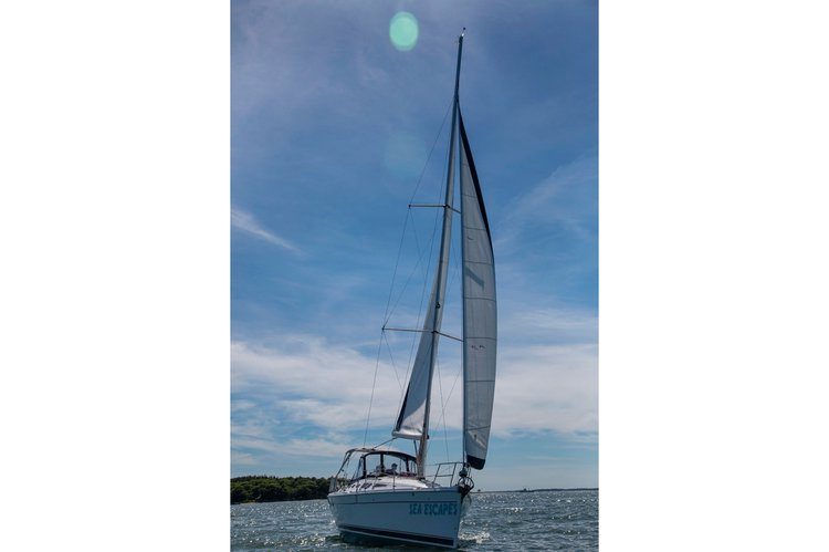 Boating is fun with a Sloop in Sag Harbor
