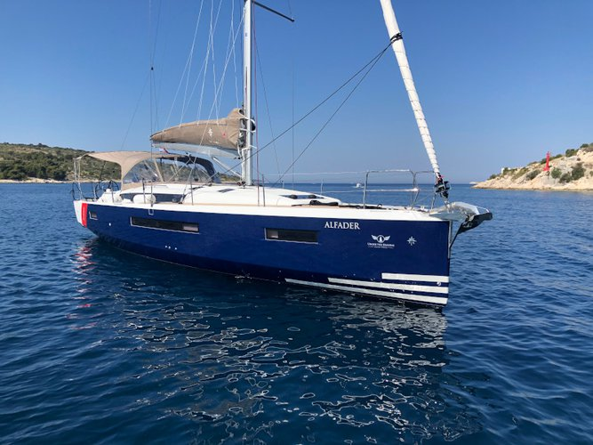 Explore Primošten on this beautiful sailboat for rent