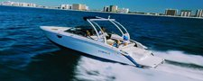 Climb aboard this amazing boat to explore New York aboard this 26 ft Bowrider