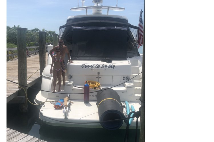 Boating is fun with a Cruiser in Sunny Isles Beach