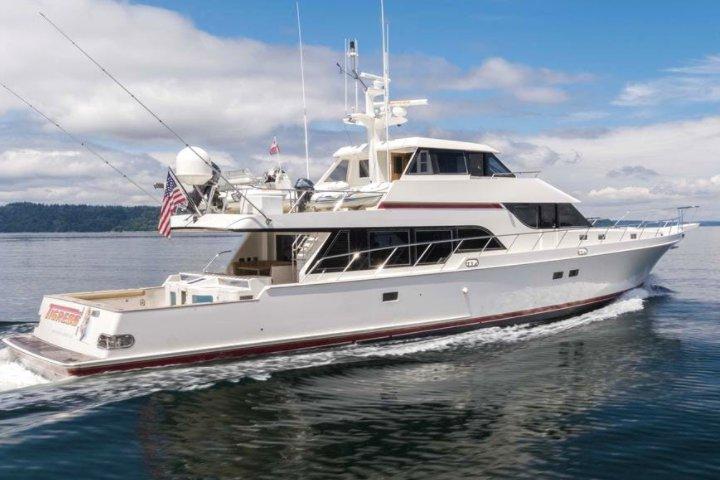 Rent A Custom Northwest built 93' McQueen Yacht